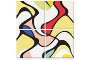 Obraz MDF, Motiv barevná abstrakce