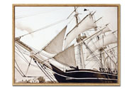 Obraz plátěný v rámečku