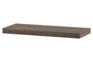 Nástěnná polička 60cm, barva tmavý sonoma dub. Baleno v ochranné fólii.