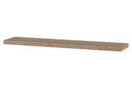 Nástěnná polička 120cm, barva sonoma dub. Baleno v ochranné fólii.