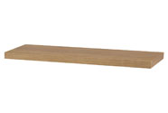 Nástěnná polička 80cm, barva dub. Baleno v ochranné fólii.