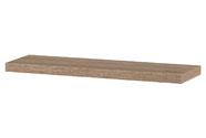 Nástěnná polička 80cm, barva sonoma dub. Baleno v ochranné fólii.