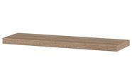 Nástěnná polička 90cm, barva sonoma dub. Baleno v ochranné fólii.