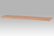 Nástěnná polička 120cm, barva buk. Baleno v kartonu 1ks/ktn.