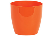Obal na květiny plastový - barva oranžová