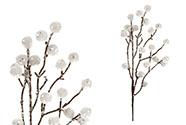 Větvička bílá, umělá dekorace