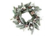 Věnec , vánoční  umělá dekorace