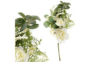 Květiny na stonku, umělá jarní dekorace