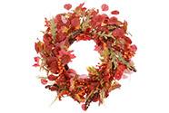 Věnec,  podzimní dekorace