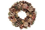 Věnec, vánoční dekorace