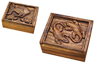 Mahaganová krabička