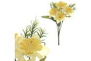 Narcisky puget, barva žlutá. Květina umělá.