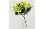 Kalanchoe puget, barva žlutá. Květina umělá.