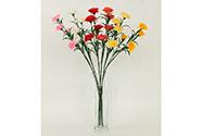 Karafiát, mix 6 barev. Květina umělá.