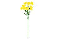 Narciska puget, barva žlutá,  Květina umělá.