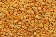 Písek dekorační oranžový