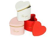 Flower box, papírový obal, mix 3 druhů, cena za kus