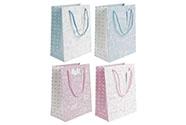 Taška papírová, mix 4 dekorů