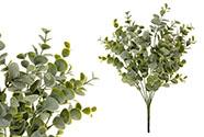 Eukalyptus, květina umělá plastová.