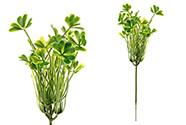 Čtyřlístek, umělá květina plastová