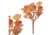 Ginkgo biloba, puget, umělá květina, podzimní hnědá barva.