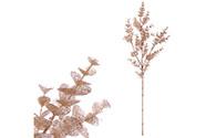 Eukalyptus větev - měděná barva s glitry.