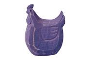 Slepička dřevěná, barva fialová antik