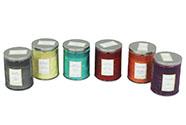 Svíčka vonná ve skle, 175g vosku, mix 6 vůní, cena za 1 kus