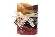 Svíčka, vůně santalového dřeva, 267g vosku.