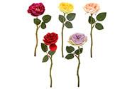 Růže anglická, mix barev. Květina umělá.