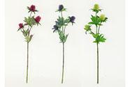 Bodlák, mix 2 barev. Květina umělá.