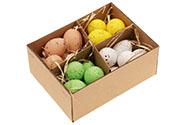 Plastové vajíčko, cena za 20ks v krabičce, mix 4 barev.