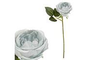Růže, barva zelenošedá. Květina umělá.