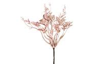 Přízdoba vánoční, buxus, umělá dekorace, barva růžová