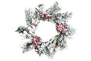 Věnec,  vánoční umělá dekorace