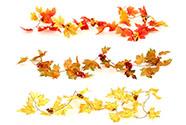 Girlanda podzimní. Mix 3 barev.
