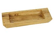 Mísa, dekorační dřevořezba z teakového dřeva