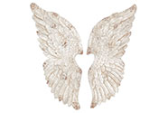 Andělská křídla, dekorace z MgO keramiky na stěnu, cena za 1 pár