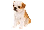 Pes z polyresinu. Interiérová dekorace.