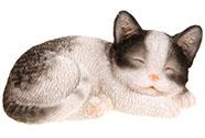 Kočka z polyresinu. Interiérová dekorace.