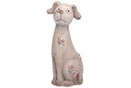 Pes s LED světlem, (baterie na solární dobíjení),MgO keramika.