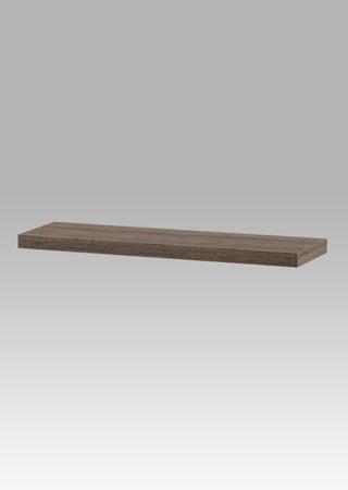 Nástěnná polička 80cm, barva tmavý sonoma dub
