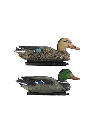 Kachna, plastová zahradní plovoucí dekorace, dva druhy
