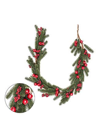 Girlanda, vánoční umělá dekorace