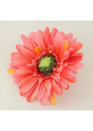 Gerbera. Květina umělá vazbová.  Cena za balení 12 kusů