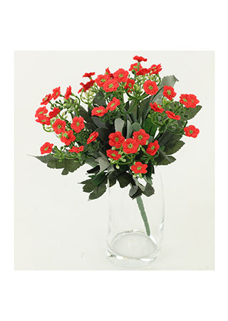 Kalanchoe puget, barva červená. Květina umělá.