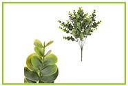 Plastové květiny