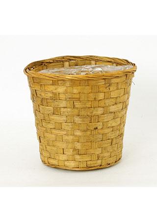 Obal bambusový, barva hnědá
