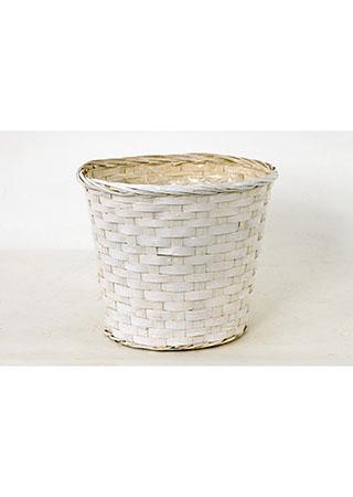 Obal bambusový, barva bílá