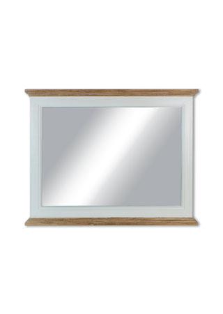 Zrcadlo, barva bílá antik a přírodní,
